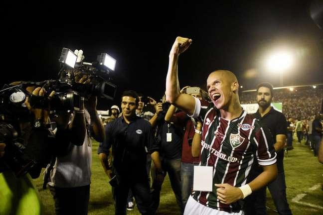 Marcos Júnior, o herói do Fluminense na inédita conquista