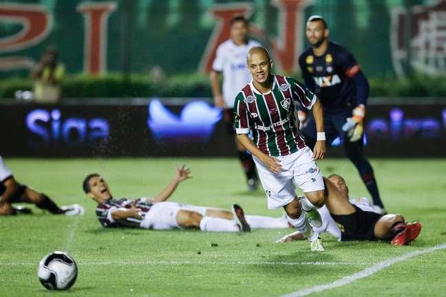 Fluminense venceu o Atlético-PR por 1 a 0