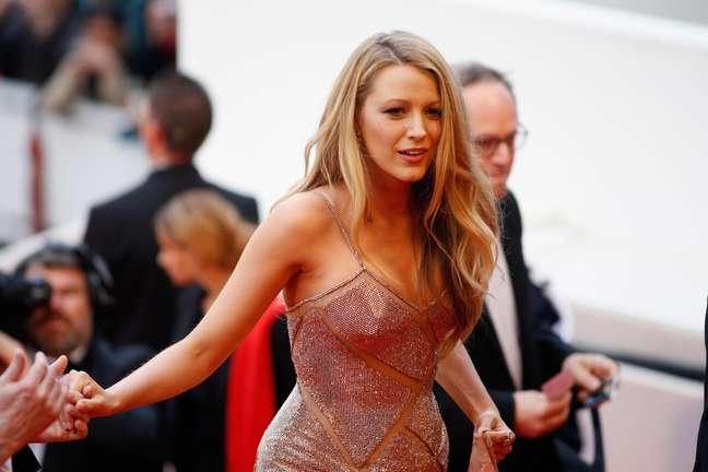 Blake Lively na abertura do Festival de Cannes 2016