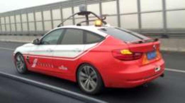 A Baidu está desenvolvendo um sistema de inteligência artificial para comandar carros sem motorista