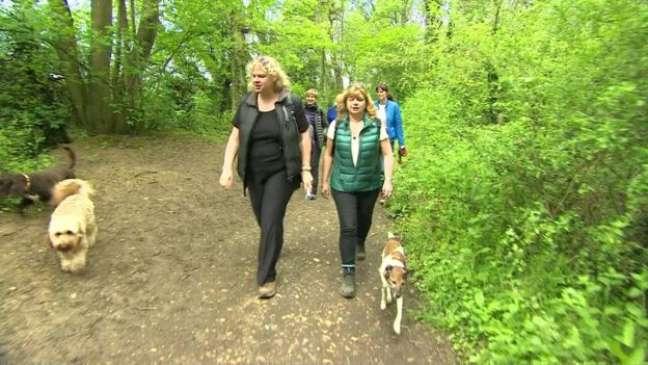 Grupo de caminhada pode ser uma forma de fazer amigos