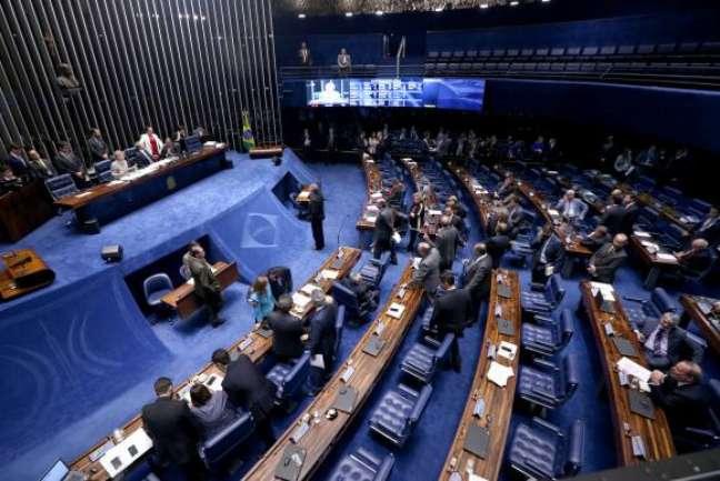 Brasília - As votações no Senado, nesta semana, deve ter em pauta os projetos de Lei que altera os valores de enquadramento do Simples Nacional e o que institui o Programa Ciência sem Fronteiras  ()