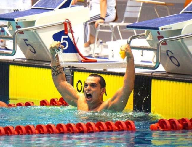 Caio Oliveira é esperança de ouro para o Brasil nos Jogos Paralímpicos em nome do Vasco (Foto: CPB)