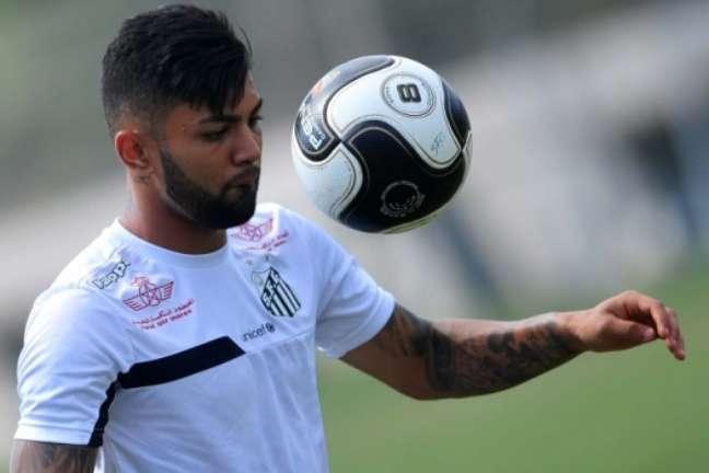 Gabigol é o artilheiro do Santos na temporada