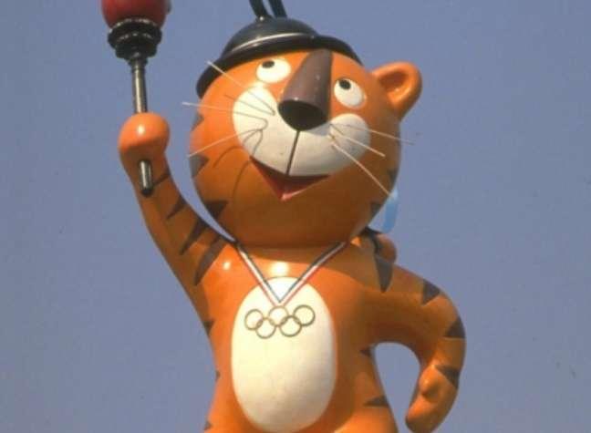 Mascote - Tigre Hodori - Seul 1988