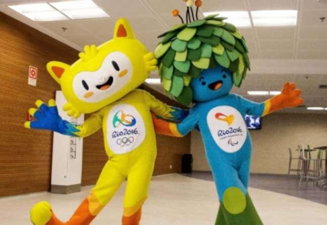 Mascote - Vinícius e Tom - Rio 2016
