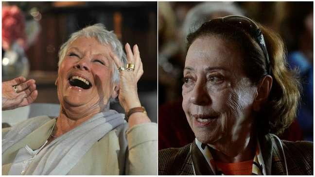 A atriz britânica Judi Dench e a 'dama do teatro brasileiro' Fernanda Montenegro deverão recitar poema na abertura da Rio-16