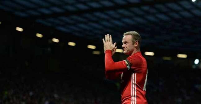 Rooney foi homenageado nesta quarta-feira (Foto: Oli Scarff / AFP)