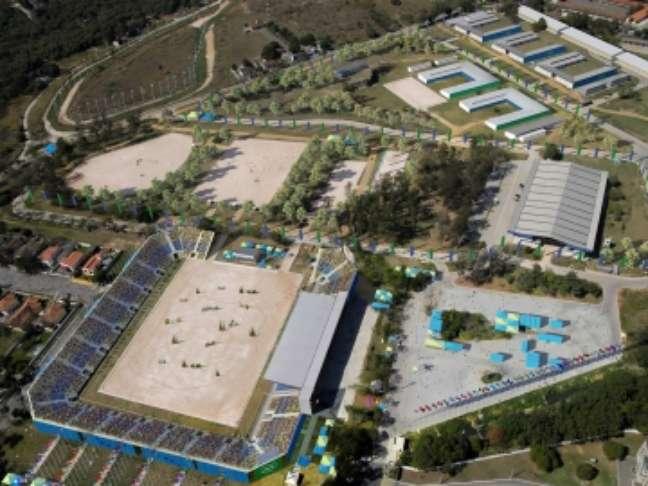 O Centro Olímpico de Hipismo do Complexo Esportivo de Deodoro foi originalmente construído para os Jogos Pan-Americanos de 2007;