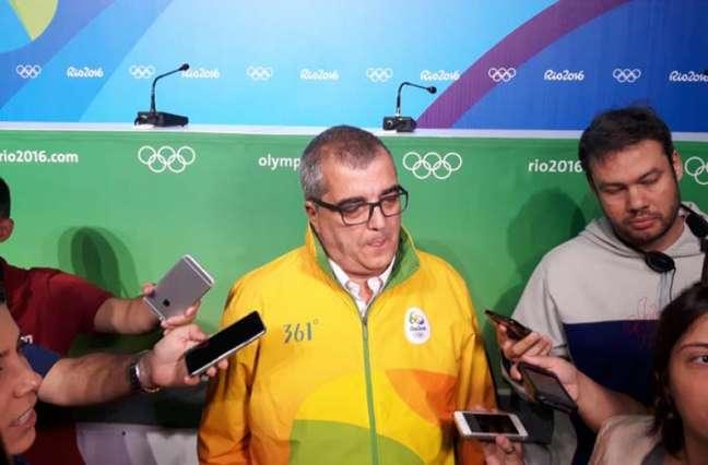 Marioo Andrada aguarda a primeira ajuda financeira de um órgão público para a Rio-2016. Dinheiro ajudará na organização da paralimpíada (Foto: Carlos Alberto Vieira)