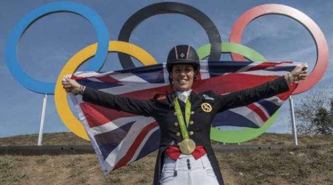 Charlotte Dujardin, do hipismo, teve duas medalhas no Rio (um ouro e uma prata). Ela ainda tem outras duas láureas