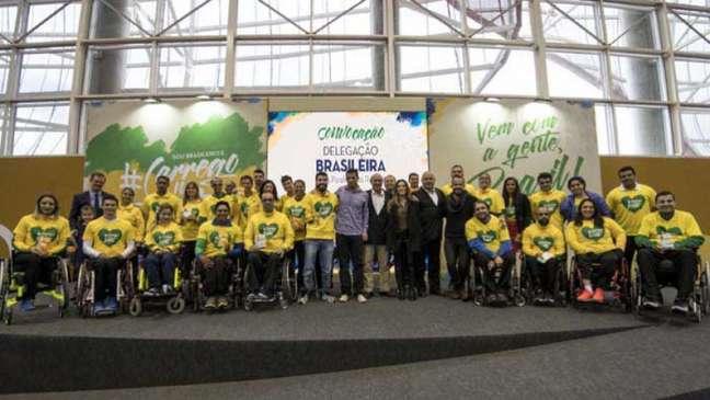 Delegação brasileira terá 287 atletas no Rio de Janeiro (Foto: Daniel Zappe/MPIX/CPB)
