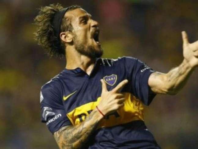 Osvaldo pelo Boca Juniors