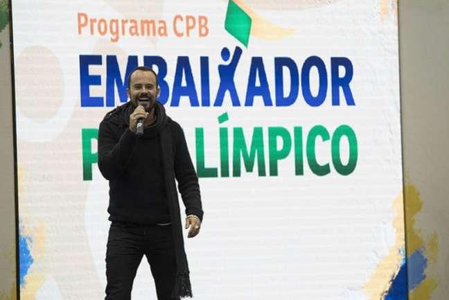 Paulo Vilhena, embaixador paralímpico, estará em Ipanema neste fim de semana (Foto: Daniel Zappe/CPB/MPIX)