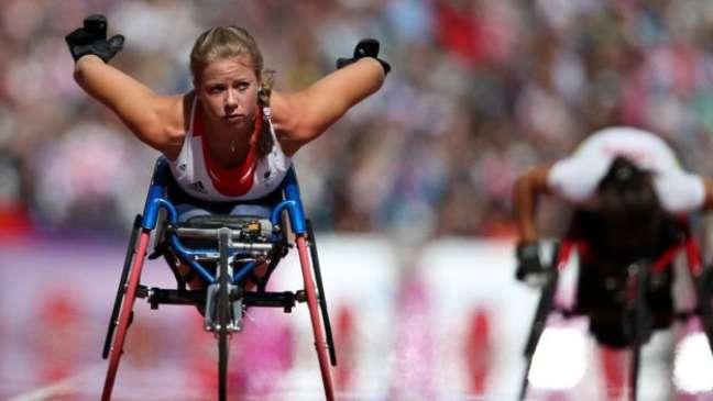 Atletismo é um esporte presente tanto na Olímpiada quanto na Paralimpíada