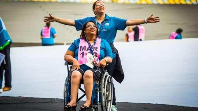 Uma grande obra será visível no gramado do Maracanã, composta pelos rostos de todos os 4.022 atletas paralímpicos de 161 países
