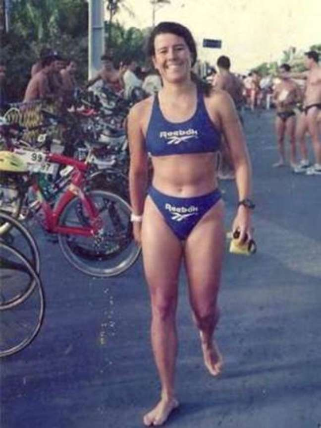 Susana completou 13 provas Ironman, de triatlo de longa distância