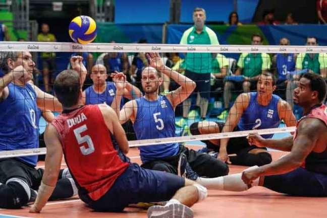 Com derrota na segunda rodada, Brasil precisa derrotar a Alemanha para chegar às semifinais(Foto: Divulgação/CPB)