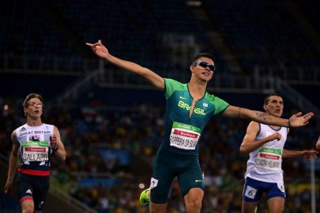 Rodrigo Parreira já havia conquistado o bronze nos 100m no Rio de Janeiro (Alaor Filho/MPIX/CPB)