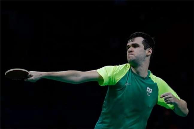 Israel Stroh enfrentou oatual campeão do mundo e líder do ranking(Alexandre Urch/CPB/MPIX)