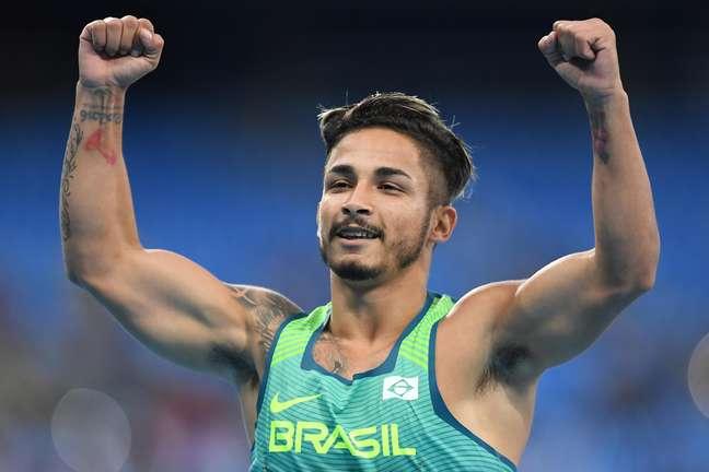 O velocista brasileiro Fabio Bordignon