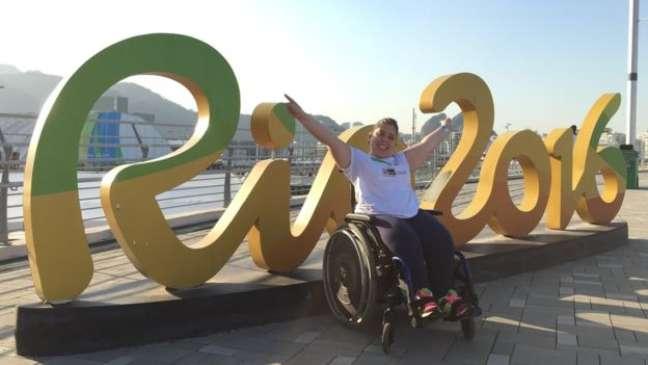 """""""Minha esperança é de que a Paralimpíada no Brasil mude um pouco essa visão sobre o deficiente"""""""