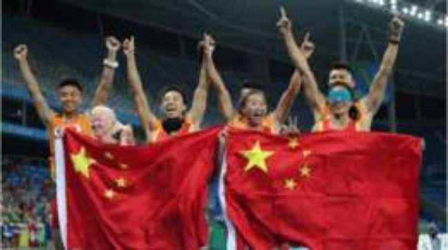 China lidera disparado quadro de medalhas no Rio e caminha para vencer sua quarta Paralimpíada