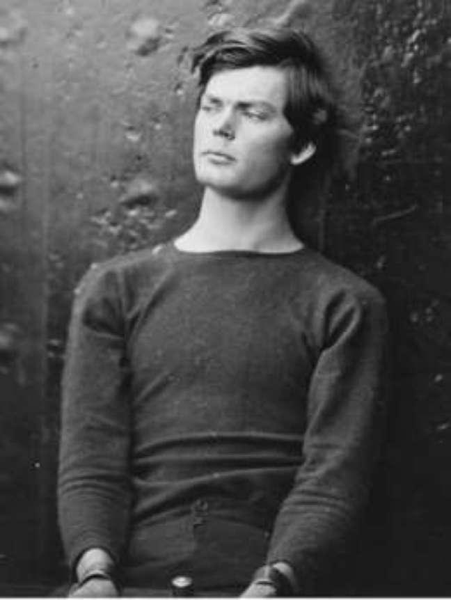 Retrato de Lewis Powell, que tentou matar o secretário de Estado americano William H. Seward, em 1865