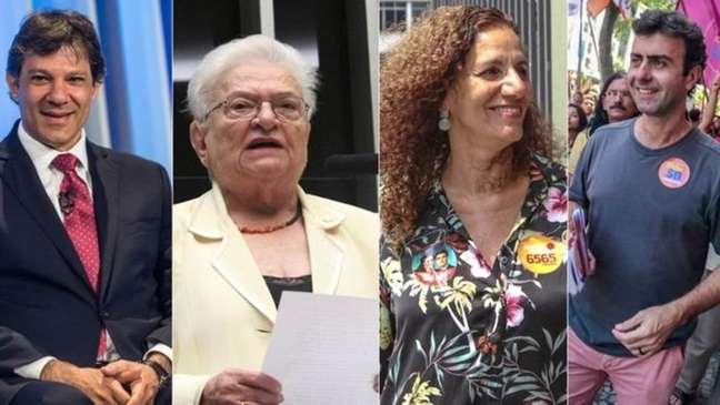 """Em São Paulo e no Rio, eleitores pedem que amigos """"abram mão"""" de preferências por Erundina e Feghali para impulsionar Haddad e Freixo"""