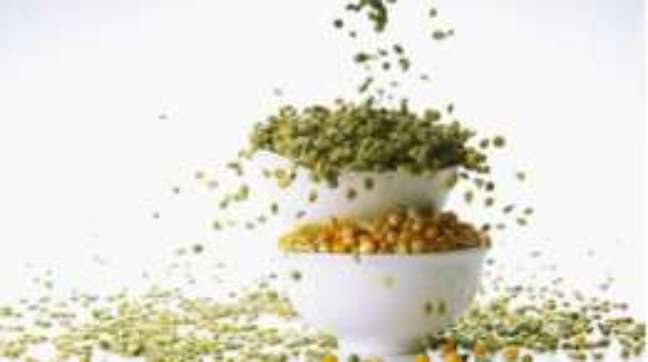 Alguns grãos são ricos em proteína