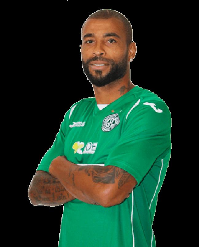 O zagueiro Antônio Ferreira, do Guarani, empurrou violentamente o árbitro na partida contra o Boa, pela final do Campeonato Brasileiro da Série C