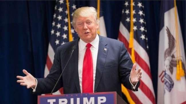 Candidato republicano Donald Trump surpreendeu e vendeu a democrata Hillary Clinton nos EUA