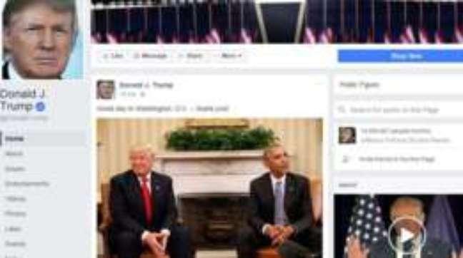 Rede social foi acusada de permitir propagação de notícias falsas postadas principalmente por correligionários de Trump