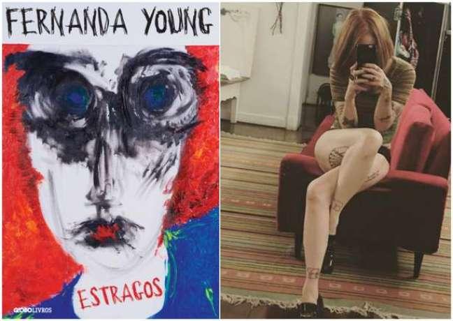 A capa do novo livro e uma selfie de seu Instagram (Fotos: Reproduções)