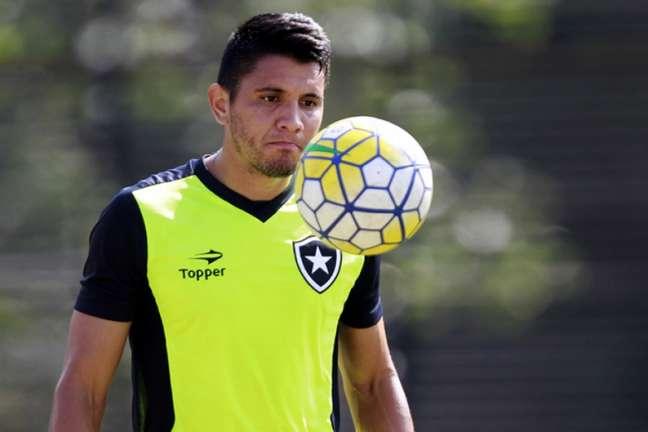 Núñez é um dos gringos que está de saída do Botafogo nesta próxima temporada (Foto: Vitor Silva/SSPress/Botafogo)