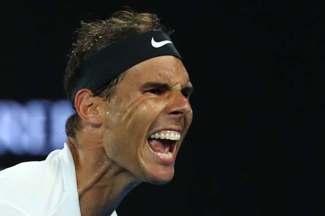 O tenista espanhol Rafael Nadal
