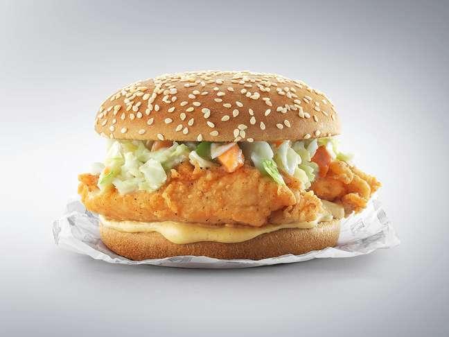 Sanduíche secreto do KFC