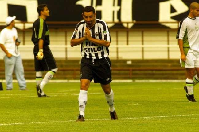 Atlético-MG fez empréstimo para conseguir contratar o atacante Guilherme (Foto: Euler Junior)