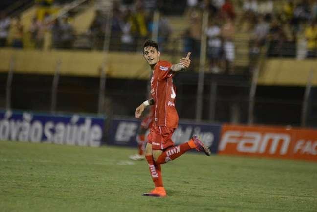 Gabriel Leite tem feito bons jogos com o Audax, apesar da campanha ruim da equipe no Paulistão (Foto: Divulgação)