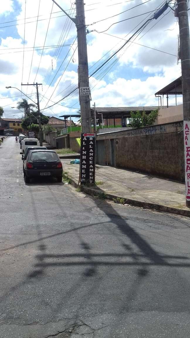 Curva da rua Monsenhor João Martins, que levaria o taxista a outra dimensão