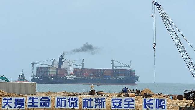 O governo do Sri Lanka outorgou o projeto do porto Colombo-Sul, previsto em US$ 1,4 bilhão, a uma companhia chinesa