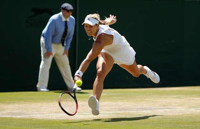 A tenista alemã Angelique Kerber