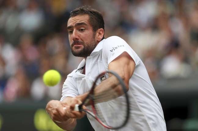 Cilic lutou, mas dores no pé atrapalharam o desempenho do tenista croata na final de Wimbledon contra Federer