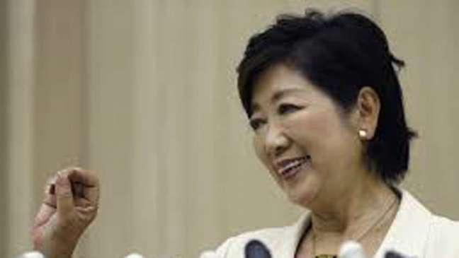Yuriko Koike é a primeira mulher a governar a capital do Japão Reprodução