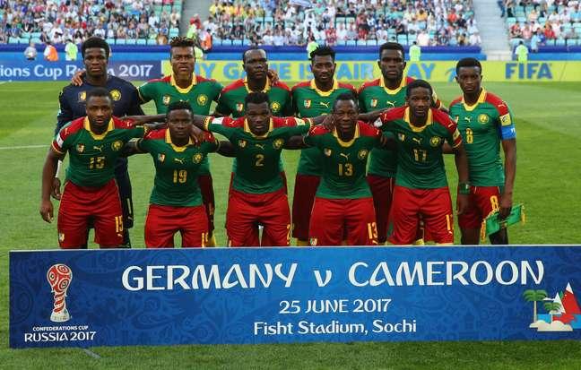 Camarões participou da última Copa das Confederações, mas não voltará à Rússia