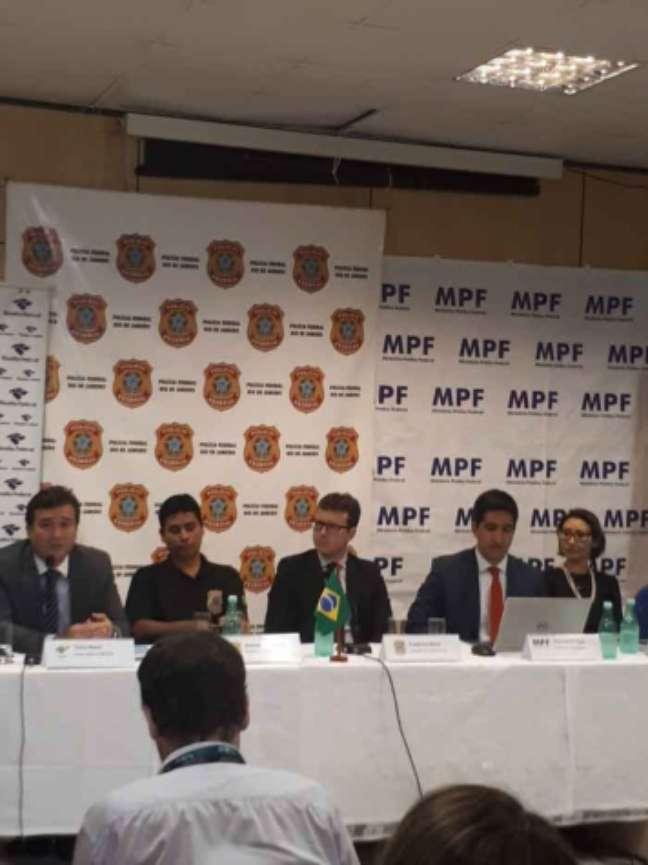 Coletiva do MPF e PF sobre possível compra de votos para o Rio de Janeiro sediar os Jogos (Jonas Moura)