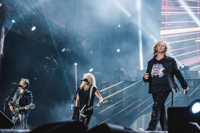 Mesmo com 40 anos na estrada, o Def Leppard ainda apresenta um rock 'n roll clássico com muita empolgação e fez a festa do público mais veterano do Rock in Rio.