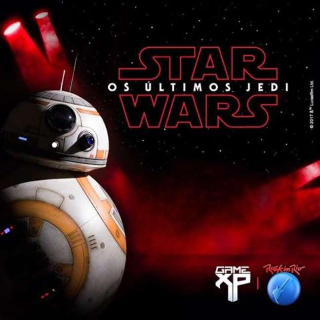 O droide BB-8 estará no Rock in Rio neste sábado, no show do DJ Elliot, o Star Wars DJ