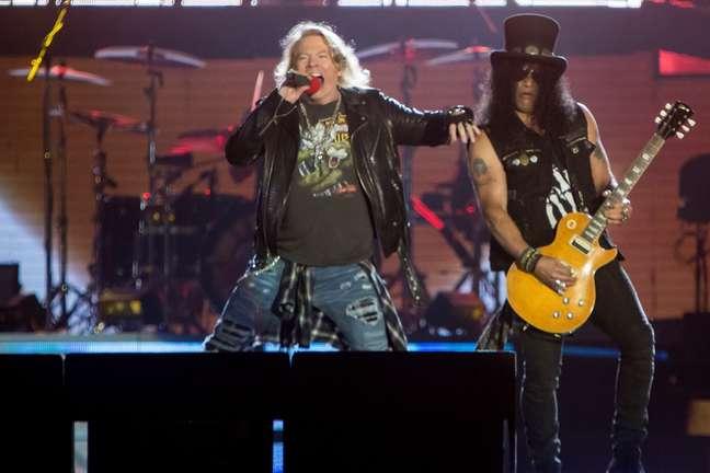 Show do Guns N' Roses teve mais de 3h de duração e fechou o penúltimo dia do Rock in Rio