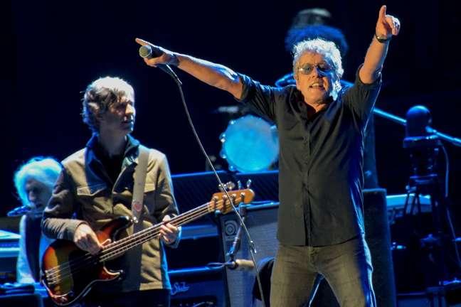 Com clássicos e muita empolgação, The Who deu um show digno da história da banda